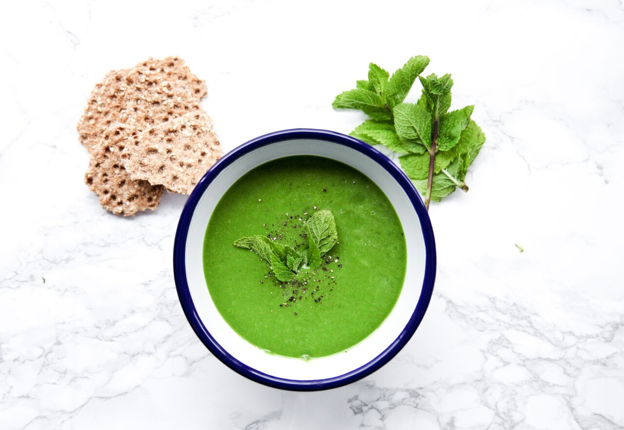 Soup Vegan Green